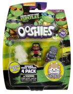 Ooshies 4 Pack Teenage Mutant Ninja Turtles - Dojo Raphael, Shredder